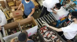 colel chard food relief in Israel